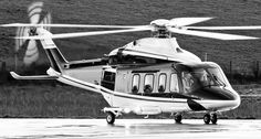 Not our ship but same type. Hell yeah. Agusta AW139
