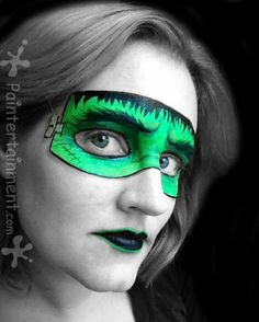 Frankenstein face painting