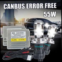 48.04$  Buy now - http://ali6iv.worldwells.pw/go.php?t=32310651547 - Canbus Error free C5 55w HID BI XENON KIT H4 high low H13 9004 9007 car HEADLIGHT 4300k 5000k 6000k 8000K 10000k ,hid xenon h4 48.04$