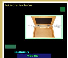 Wood Box Plans Free Download 073934 - The Best Image Search