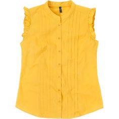 Weekend. Modelo: G815A0409575KAR. Blusa con detalle de bordado en pecho, manga corta cuello redondo.