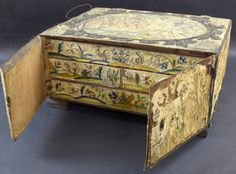 Buy online, view images and see past prices for 17th Century stumpwork and embroidered box, with. Invaluable is the world's largest marketplace for art, antiques, and collectibles.