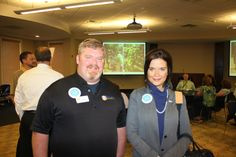 Whether they provide goods or services, many small business owners in our area take pride in hiring local personnel and providing employees with the most up-to-date training in their fields, and the benefits of their efforts are then passed on to clients as well as the community as a whole. / Pictured: Riley Security and Nicole Jones
