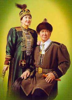 Yakut traditional dress