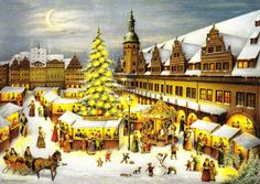 From GERMANY - Weinachten am Alten Rathaus Leipzig   Where I am meant to be!! Christmas markets in Germany ;(