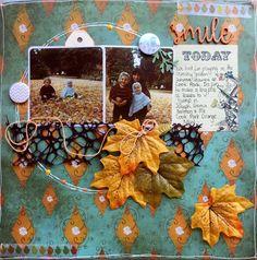 A2Z Scraplets: SMILE ~ A NEW CHALLENGE