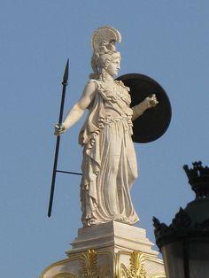 ancient greek mythology art athena - Google Search