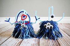 we had a kids craft day last week and had a fun time making these lil love monsters they are always a hit with our kids (and us adults) it's fun to see how each one turns out a little (or a lot) different from the others. supplies: [affiliate links included] yarn pipe cleaners googly …
