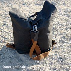Lässiger Rucksack aus SnapPap inkl. Anleitung und Schnittmuster // Backpack / Tutorial / Freebie / DIY