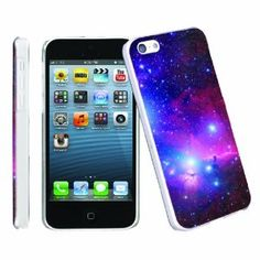 Amazon.com: [ArmorXtreme] Apple iphone 5C Lite UltraSlim Smooth Clear Cover Phone Case [Space]: Cell Phones & Accessories