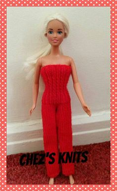 Hey, I found this really awesome Etsy listing at https://www.etsy.com/uk/listing/468621841/barbie-dolls-outfit-jumpsuit