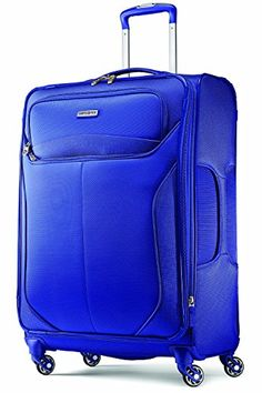 cheap samsonite lift spinner 25 inch expandable wheeled luggage one size  blue 0e25453215