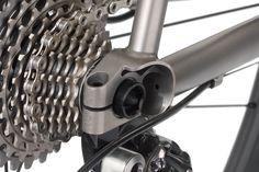 No. 22 Bicycle Company Aurora titanium and carbon road disc bike, proudly handbuilt in USA.