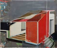Christian Hellmich, Ohne Titel 5, oil on paper, 2006 Le territoire des sens