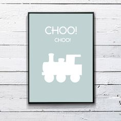 Choo Choo print