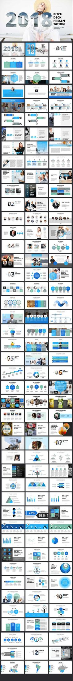 121 best business powerpoint templates images on pinterest in 2018 2018 pitch deck powerpoint template cheaphphosting Gallery