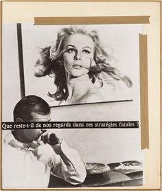 Astrid Klein, Que reste-t-il de nos regards dans ces stratégies fatales?, 1980
