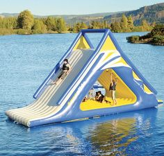 need to talk mom into this for the lake house! HOW FUN! do-me