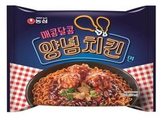 NongShim Spicy n Sweet Seasoned Spicy Chicken Noodle Ramen Spicy Chicken Noodles, Pop Tarts, Ramen, Snack Recipes, Seasons, Sweet, Korea, Food, Snack Mix Recipes
