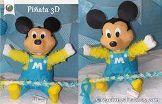 Piñata de mickey bebé
