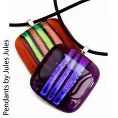 glass fusing jewelry - Google Search                                                                                                                                                                                 More