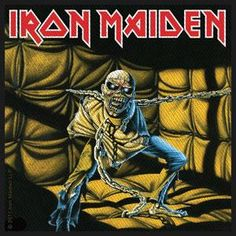 Iron Maiden - Piece of Mind ( Heavy Metal ) Year ( Ano ): 1983 Tracklist: Where Eagles Dare Revelations Flight of Icarus Die With Your B. Iron Maiden - Piece of Mind Dream Theater, Bruce Dickinson, Albums Iron Maiden, Iron Maiden Album Covers, Rock Album Covers, Classic Album Covers, Book Covers, Heavy Metal Music, Heavy Metal Bands