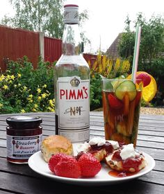 From our 'pure indulgence' range - Strawberry Conserve with Pimm's No. 1 - a perfect topping for scones warm from the oven