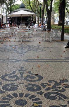 Calçada portuguesa, avenida da liberdade