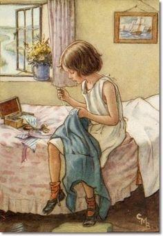 Nähstunde - Cicely Mary Barker