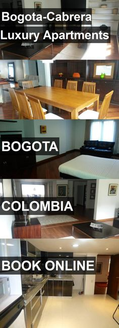 Bogota-Cabrera Luxury Apartments in Bogota, Colombia. For more information, photos, reviews and best prices please follow the link. #Colombia #Bogota #travel #vacation #apartment
