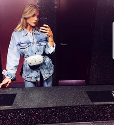 Maja nilsson ❤♥🇸🇪 Chic Outfits, Summer Outfits, Spring Summer Fashion, Passion For Fashion, Denim Skirt, Preppy, What To Wear, Hair Makeup, Classy