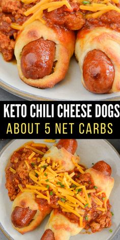 Healthy Low Carb Recipes, Ketogenic Recipes, Low Carb Keto, Diet Recipes, Cooking Recipes, Diabetic Recipes, Veggie Recipes, Ketogenic Diet, Chili Cheese Dogs