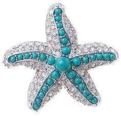 Starfish Brooch – SarahAghili.com