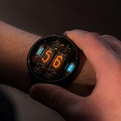 メカメカしくてカッコいいニキシー管腕時計「NIWA」がKickstarterで出資募集中