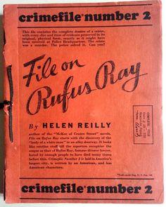 File on Rufus Ray - Crimefile 2