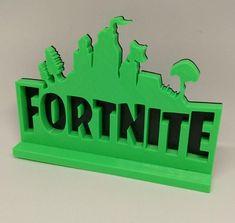 Fortnite Battle Royale Logo Stand XBOX PS4 Fortnite Birthday Fortnite Party Easter Gift