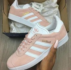 Imagine pink, adidas, and luxury