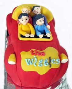 The Wiggles Birthday Cake
