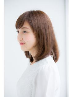 【Ramie】ナチュラルなミディアム(岡本聡美):L002176979|ラミエ(Ramie)のヘアカタログ|ホットペッパービューティー Short Hair Styles, Japanese Hairstyles, Beauty, Bob Styles, Beleza, Japanese Hairstyle, Short Hairstyle, Short Hair Cuts, Pixie Cuts
