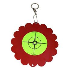 World of Targets Shoot-N-Spin Spinners - Red Airgun