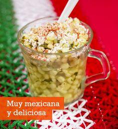 Receta de esquites, una deliciosa comida mexicana