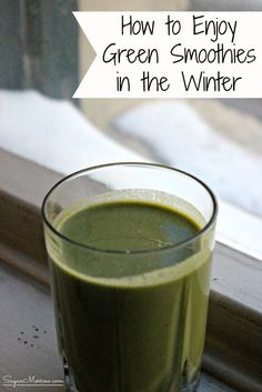 Yes, you CAN still enjoy delicious, healthy green smoothies in winter! Find out three tips for making winter green smoothies in this article. Pin for later or read it now to start making winter-ready green smoothies today! Healthy Green Smoothies, Green Smoothie Recipes, Smoothie Drinks, Winter Green, Yummy Snacks, Meal Planning, Nutrition, Healthy Recipes, Tips