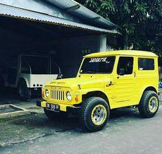Suzuki Sj 410, 4x4, Suzuki Jimny, Yellow Car, Jeeps, Cars And Motorcycles, Offroad, Dream Cars, Samurai
