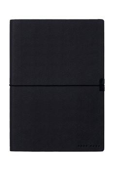 BOSS - A5 notepad in dark-blue faux leather Writing Instruments, Leather Fashion, A5, Hugo Boss, School Supplies, Dark Blue, Deep Blue, Dark Teal, School Essentials