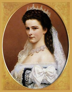 Elizabeth, Empress of Austria, Queen of Hungary  I find her so beautiful