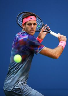 Juan Martin Del Potro Photos Photos - Juan Martin del Potro of Argentina serves Adrian Menendez-Maceiras of Spain in their second round Men's Singles match on Day Four of the 2017 US Open at the USTA Billie Jean King National Tennis Center on August 31, 2017 in the Flushing neighborhood of the Queens borough of New York City. - 2017 US Open Tennis Championships - Day 4