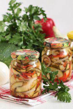 Diet Recipes, Vegan Recipes, Polish Recipes, Tzatziki, Preserving Food, Celery, Preserves, Pickles, Cucumber