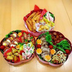 運動会弁当。 Cute Food, I Love Food, Good Food, Food Art Bento, Bento And Co, Happy Foods, Aesthetic Food, Japanese Food, Lunch Recipes