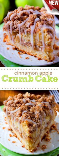The Best  Cinnamon Apple Crumb Cake DIY - Ingredients Refrigerated 1 Egg, large Baking & Spices 1/2 tsp Baking powder 1/4 tsp Baking soda 1/2 cup Brown sugar 1 tsp Cinnamon 2 1/2 cup Flour 3/4 cup Granulated sugar 1/4 tsp Nutmeg 1/2 cup Powdered sugar 3/4 tsp Salt 1 1/2 tsp Vanilla Drinks 1 1/2 tbsp Apple cider Dairy 3/4 cup Butter 1/2 cup Sour cream Other 1 Large (or 2 small) tart apples-peeled and chopped