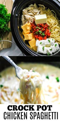 Crock Pot Food, Crockpot Dishes, Crock Pot Slow Cooker, Crock Pot Pasta, Crockpot Chicken Meals, Crock Pot Dump Meals, Simple Crockpot Chicken Recipes, Dinner Crockpot Recipes, Slow Cooker Chicken Pasta